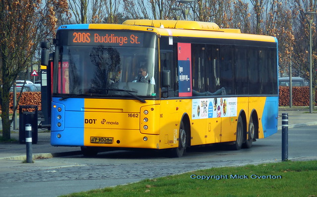 2007 Volvo B12BLE ARRIVA 1662 still wears 2A branding as it still is on the 2A contract for 2 more days