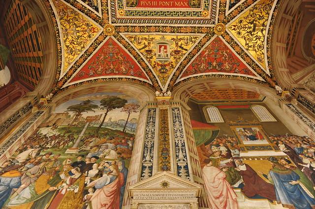 Libreria Piccolomini, Siena, Tuscany, Italy 183