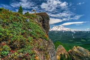 High Atop the Rock