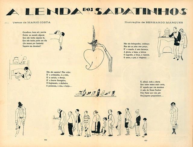 A lenda dos sapatinhos (no Natal) | The legend of the little shoes (at Christmas) | 1920s