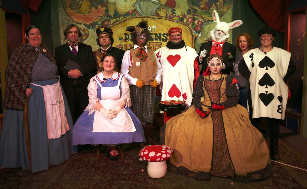 Alice In Wonderland Cast A Photo On Flickriver
