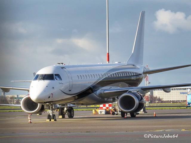 Arab Wings Company Embaer ERJ190 (VP-CCC) at Schiphol East
