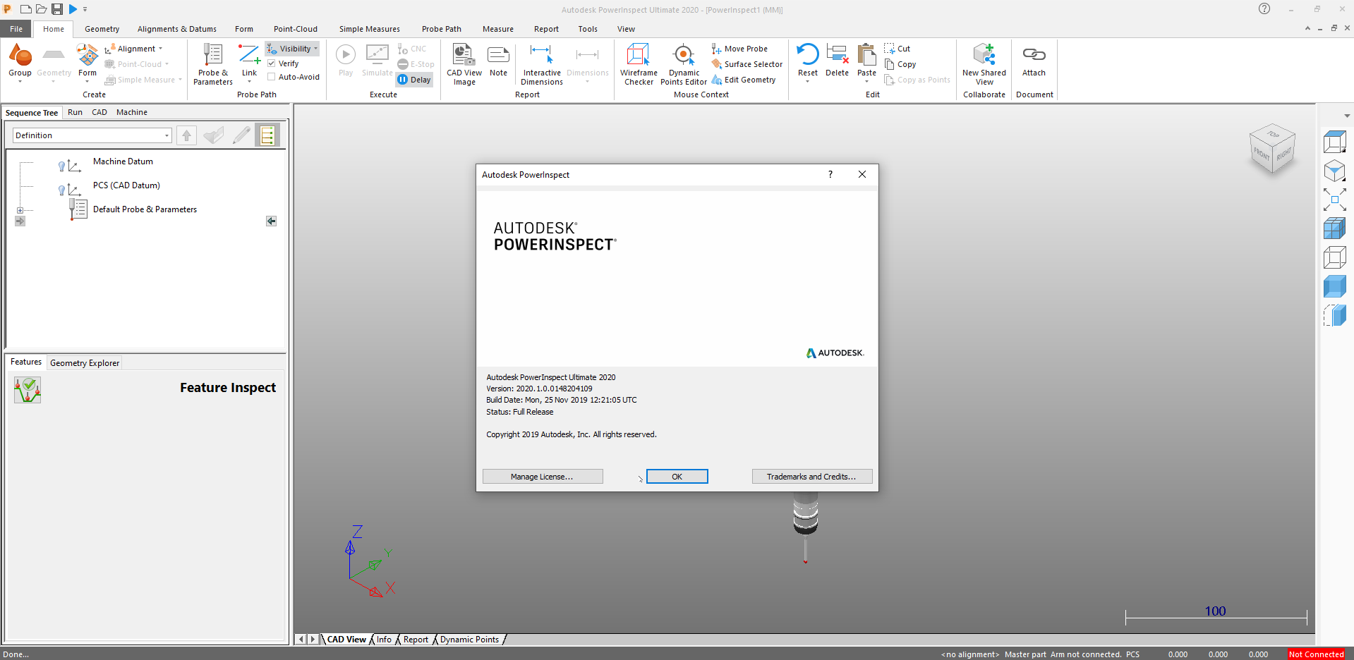 Working with Autodesk PowerInspect Ultimate 2020 R1 x64 full license