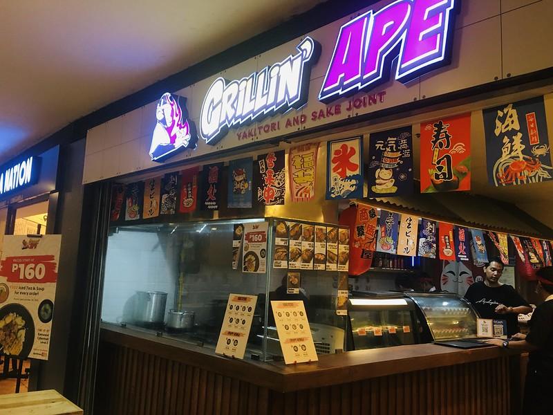 Grillin' Ape, Eastwood
