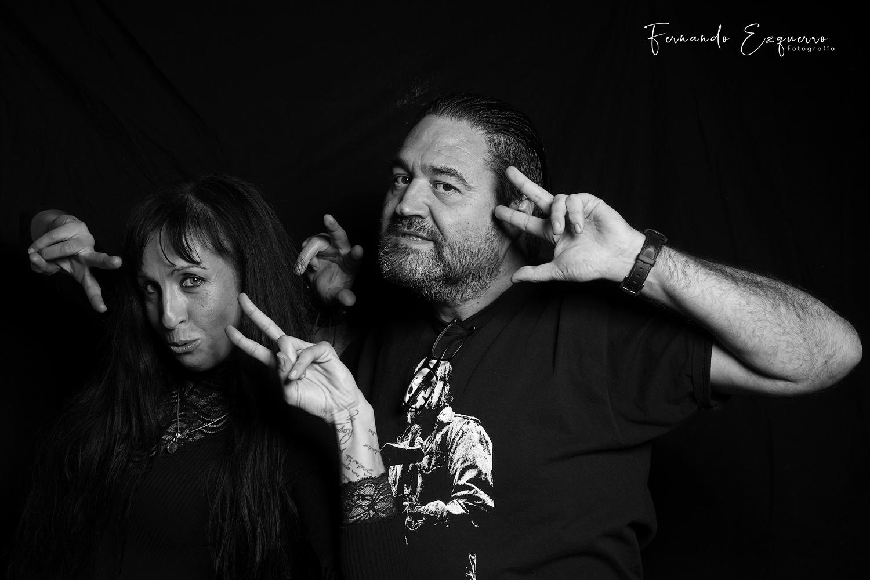 Raquel y Gaudi Ramone