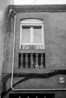 Balcó amb cariatides / Caryatid balcony