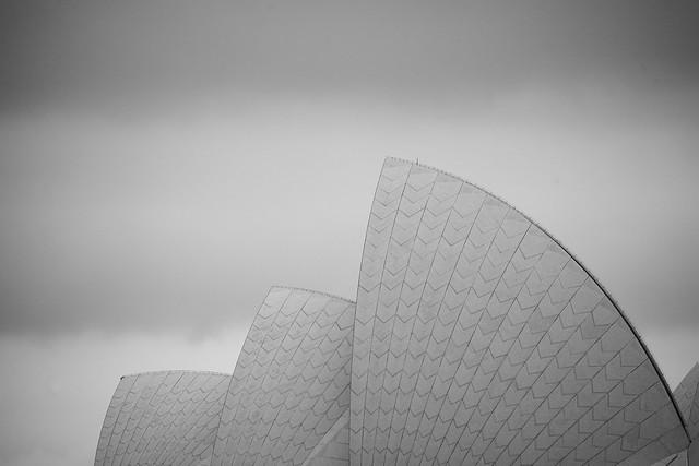 Opera house looks like a sail