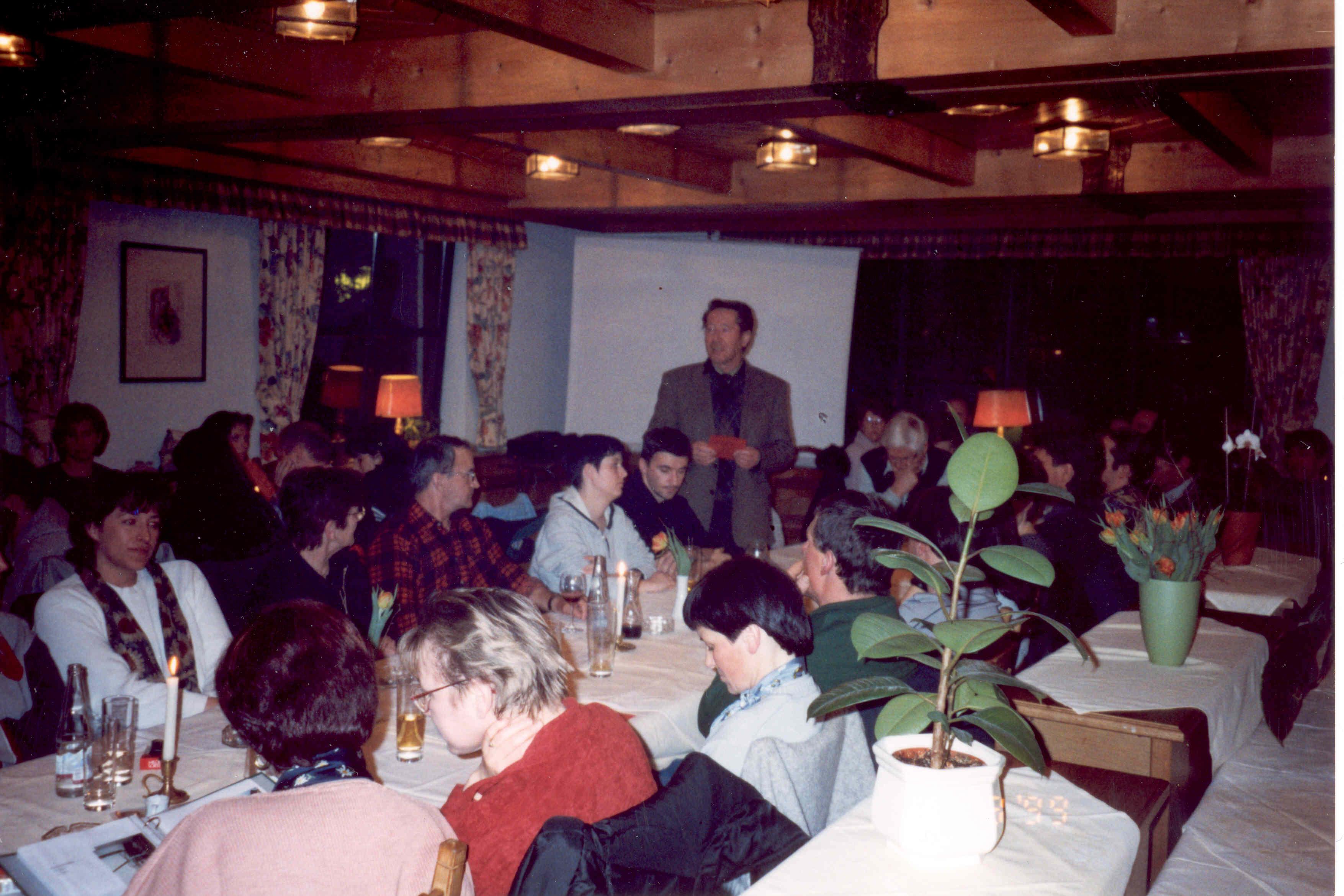 Jahreshauptversammlung 1998