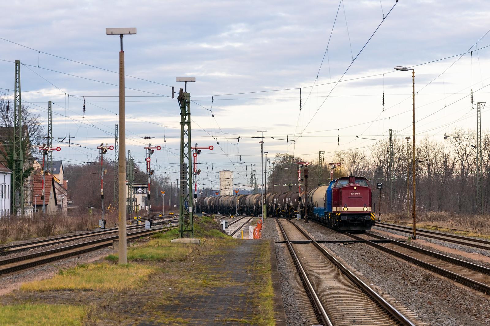 204 271 und 204 311 in Altenburg