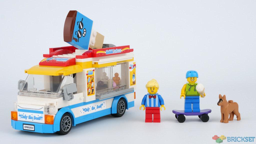 Review: 60253 Ice-Cream Truck | Brickset: LEGO set guide ...