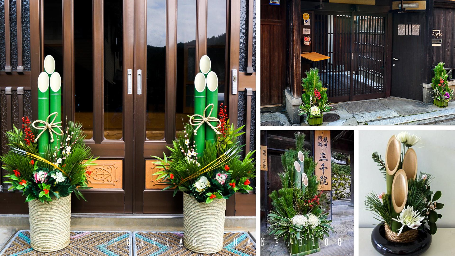 Nhật Bản tuần cuối năm-kadomatsu-ngaylangthang