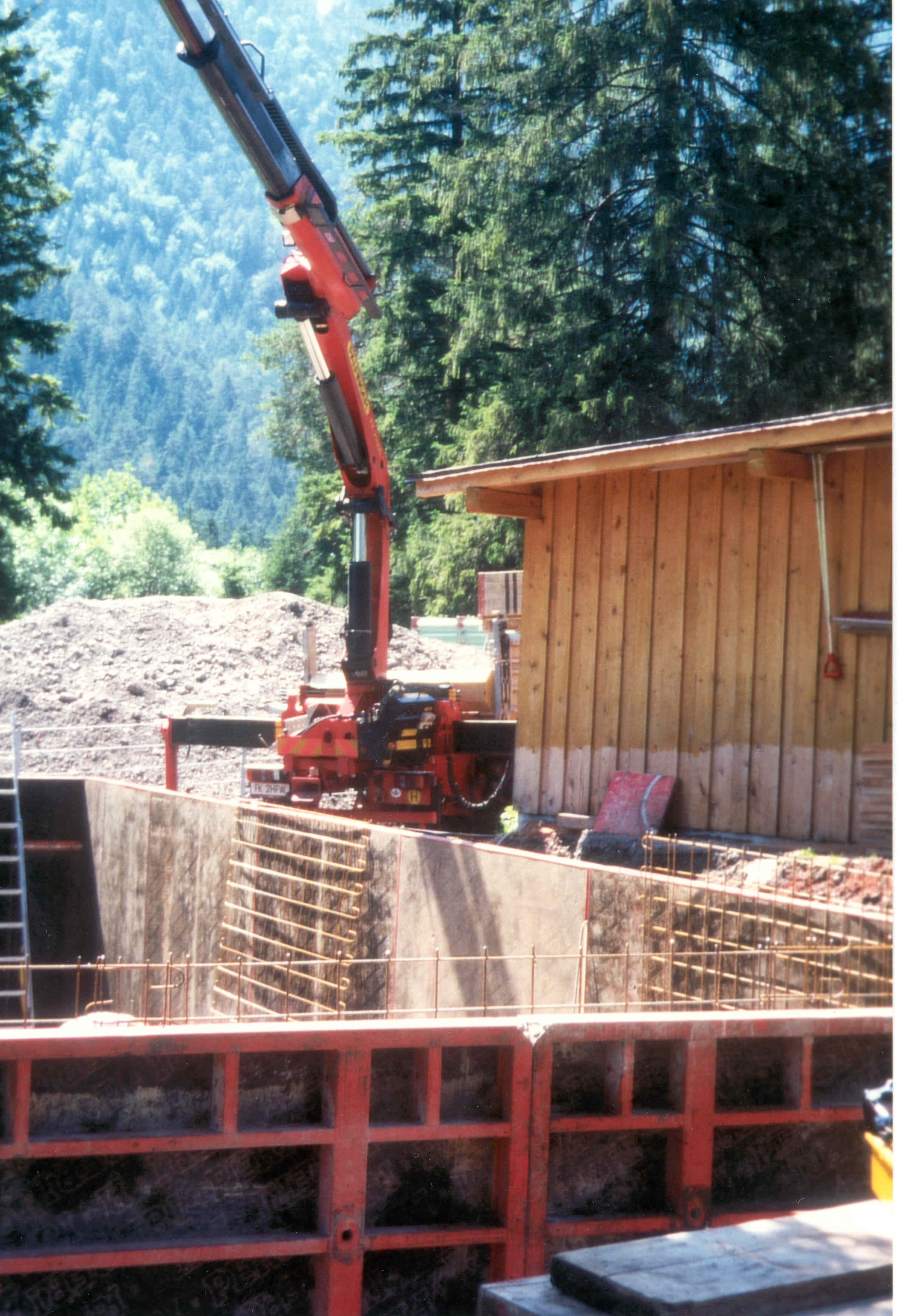 Bau Clubheim 1998