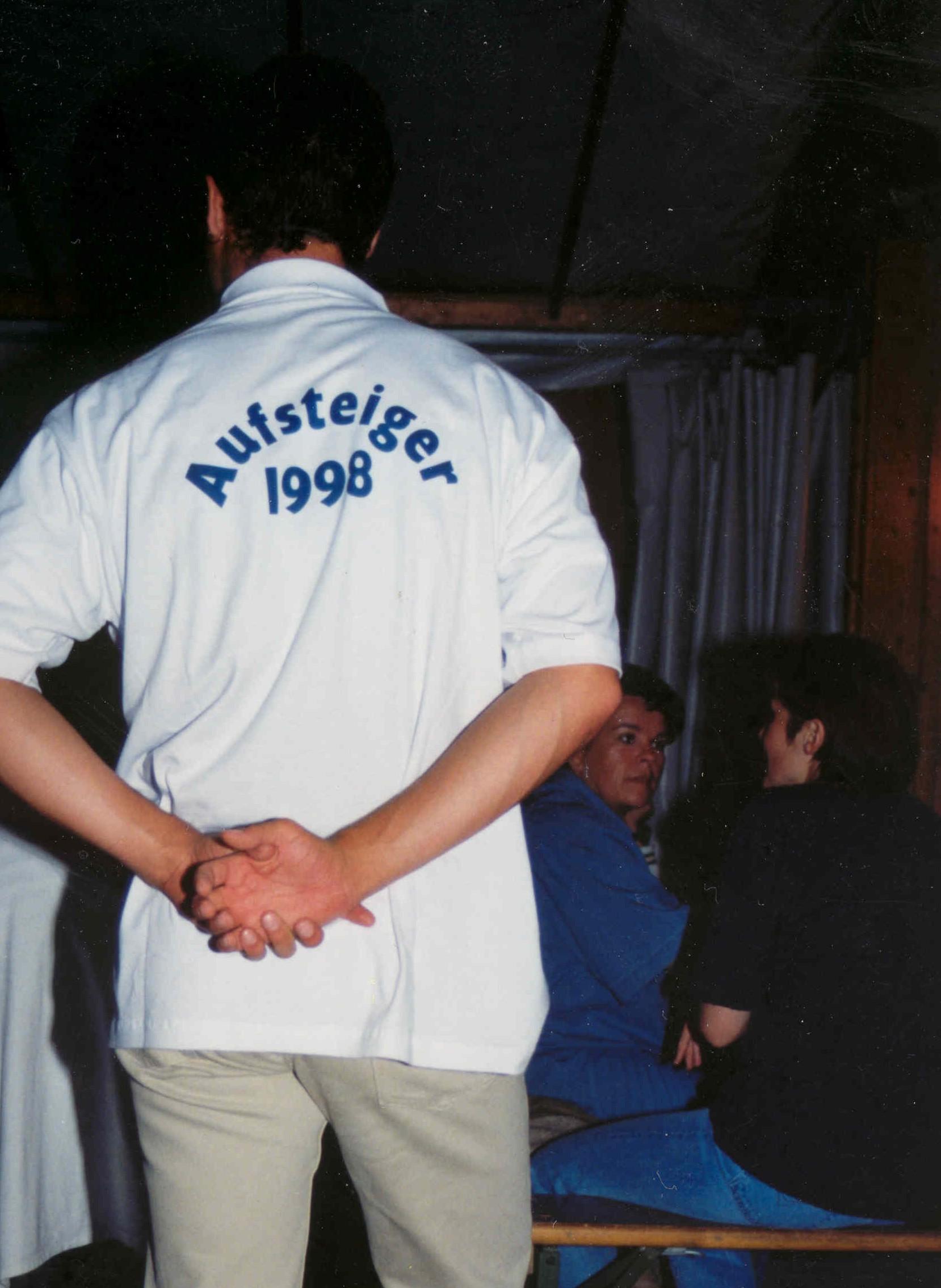 Aufstiegsfeier 1998