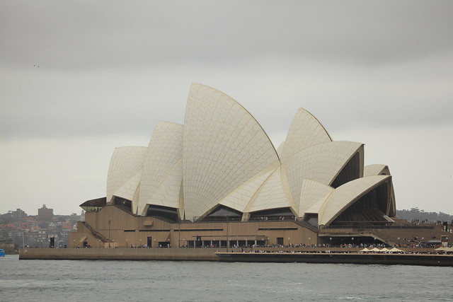 First full views of opera house