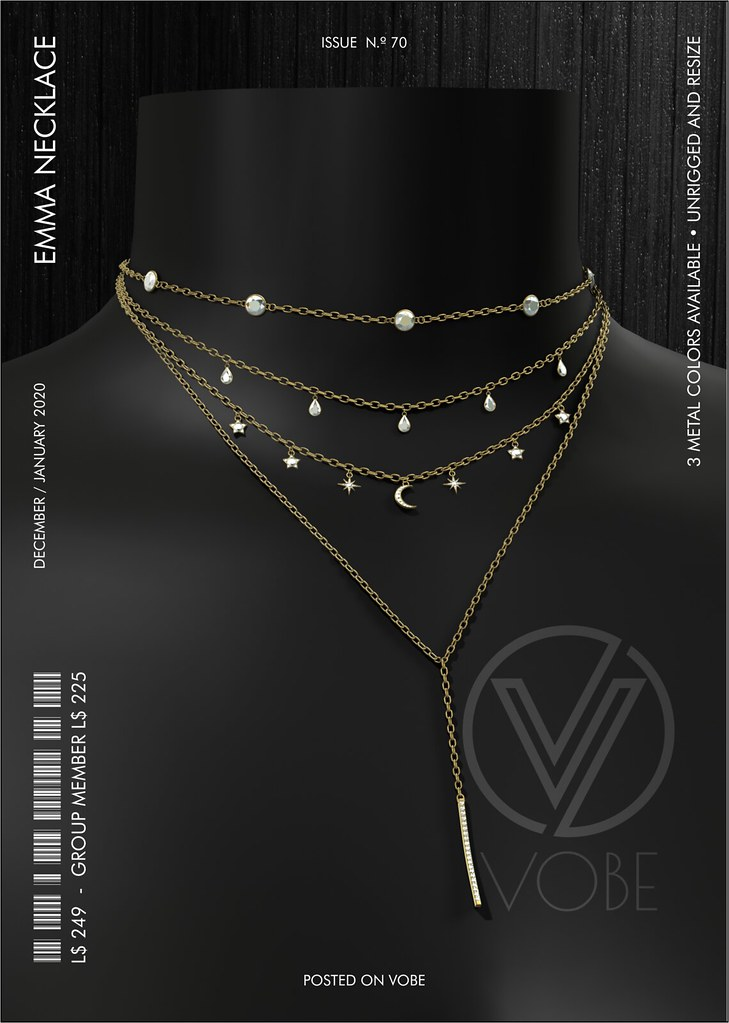"VOBE for Belle. Events – ""Emma"" Layered Necklace"