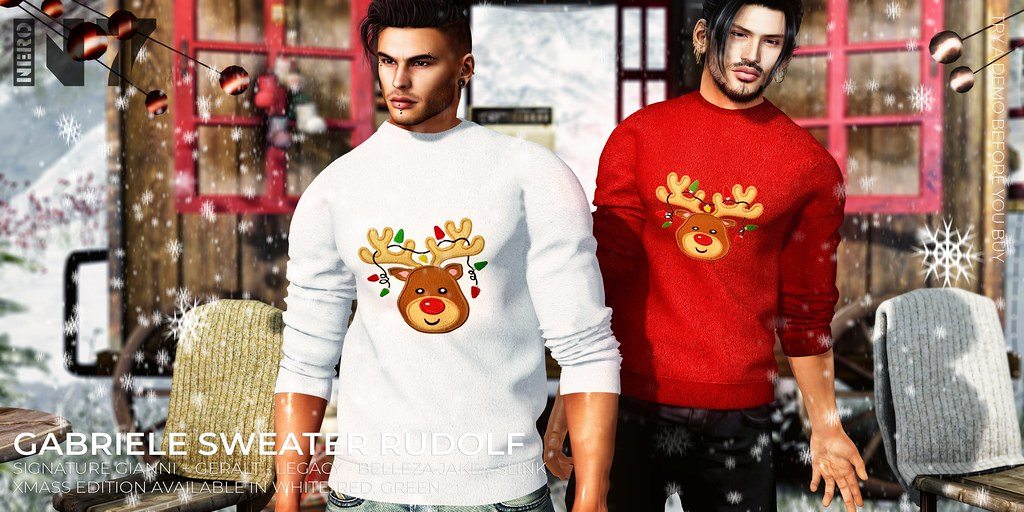 NERO – GABRIELE SWEATER XMASS EDITION