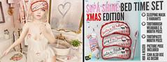 Blah. Supa Shine / Bed Time Set - Exclusive Xmas Edition