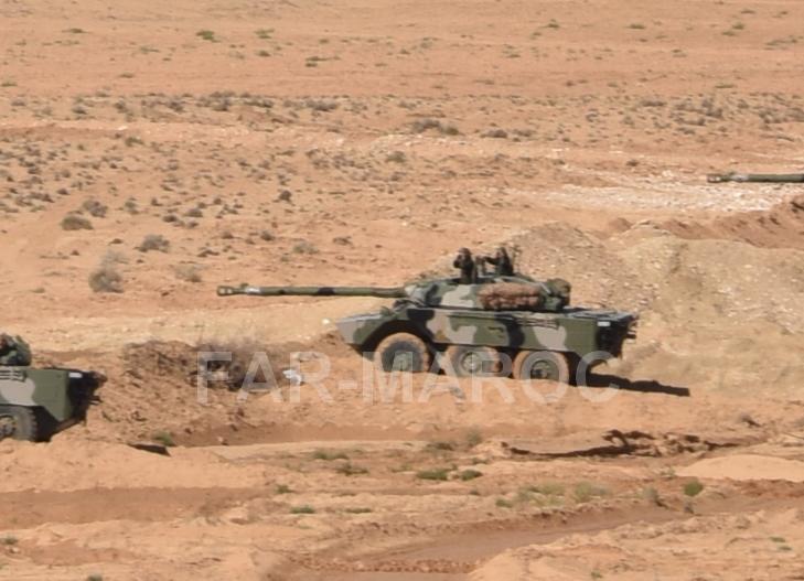 AMX-10RC des FAR // Moroccan AMX-10RC 49249267892_d090f90393_o