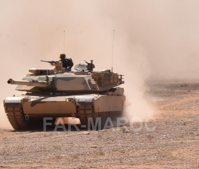 M1A1 SA ABRAMS Marocains / Moroccan M1A1 SA ABRAMS 49249268157_c95b2fbf4a_o