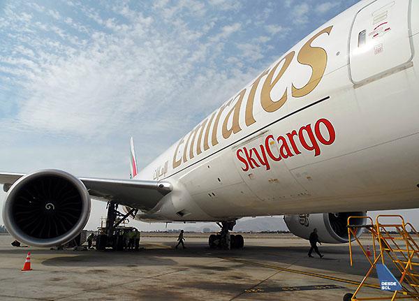 Emirates SkyCargo B777F (R.Vildósola)