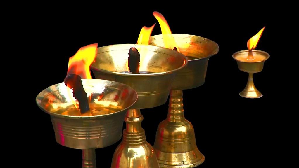 Oil oil antique lamp Glass Kerosene