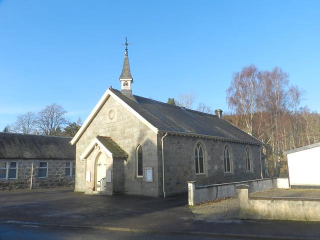 Dulnain Bridge Parish Church, Dulnain Bridge, Jan 2016