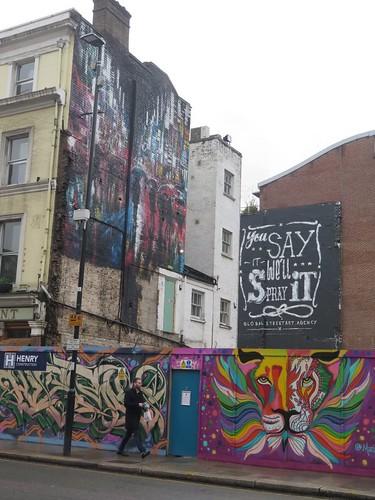 Street art to order