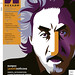 Maria Zaikina, portrait of Howard Jacobson, cover for LECHAIM magazine 332 (Moscow)