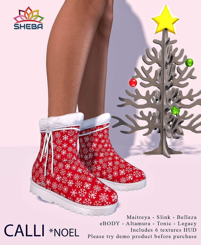 [Sheba] Calli boots *Noel