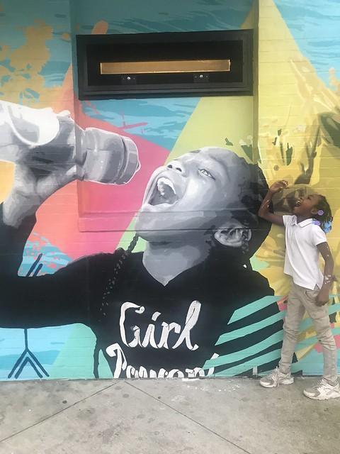 Penrose Rec Center Drink More Tap Mural