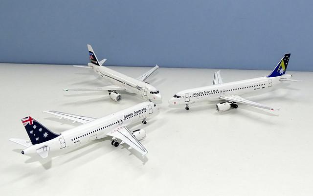Ansett Australia Airbus A320s