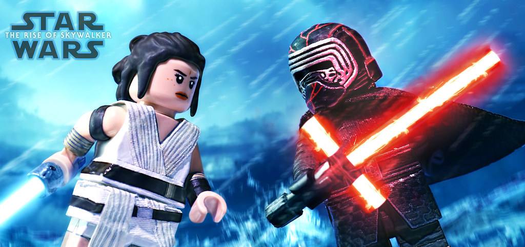 Lego Star Wars The Rise Of Skywalker Rey Vs Kylo Ren Flickr