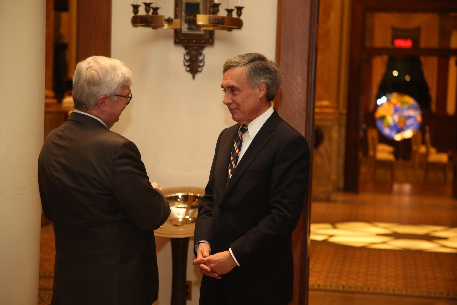Farewell Parties for Ambassador Kenneth Quinn's Retirement