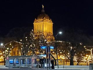 Legislative Buildings in Lights