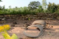 Left over sandal