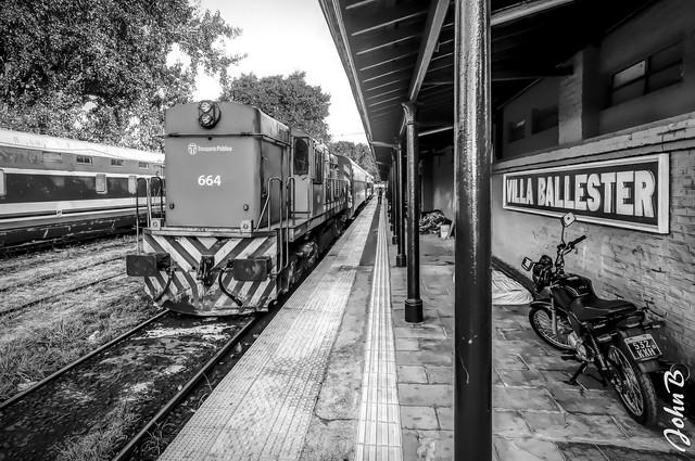 Estación de trenes - Villa Ballester