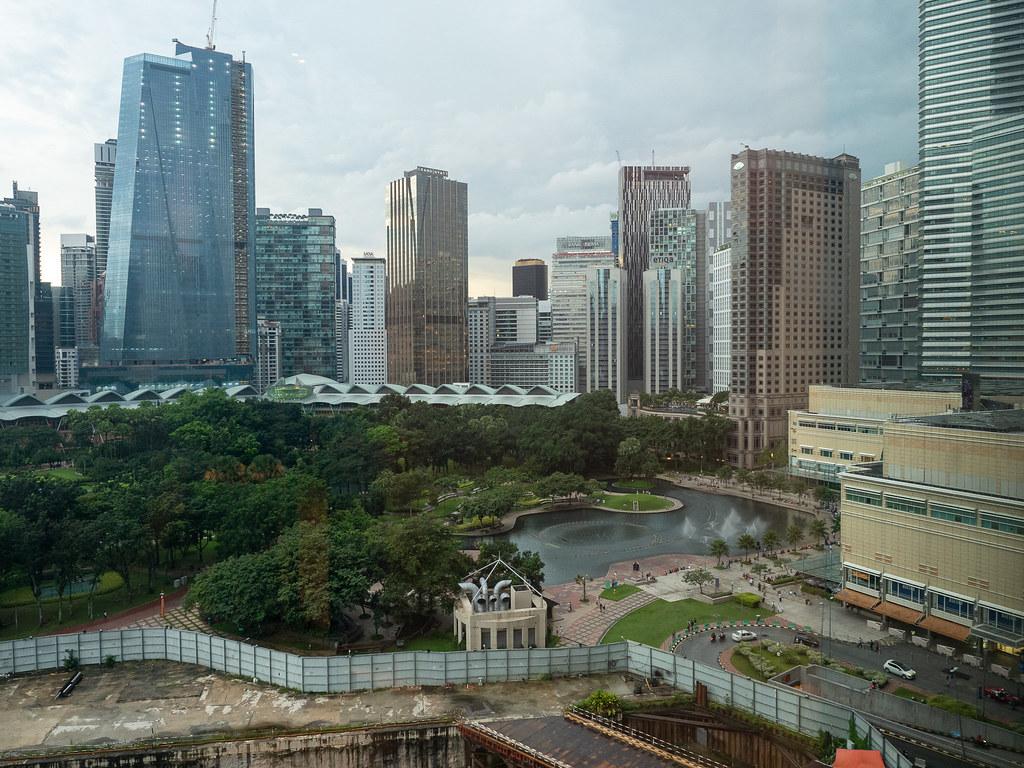 KLCC Park View from Curate, Four Seasons Hotel Kuala Lumpur
