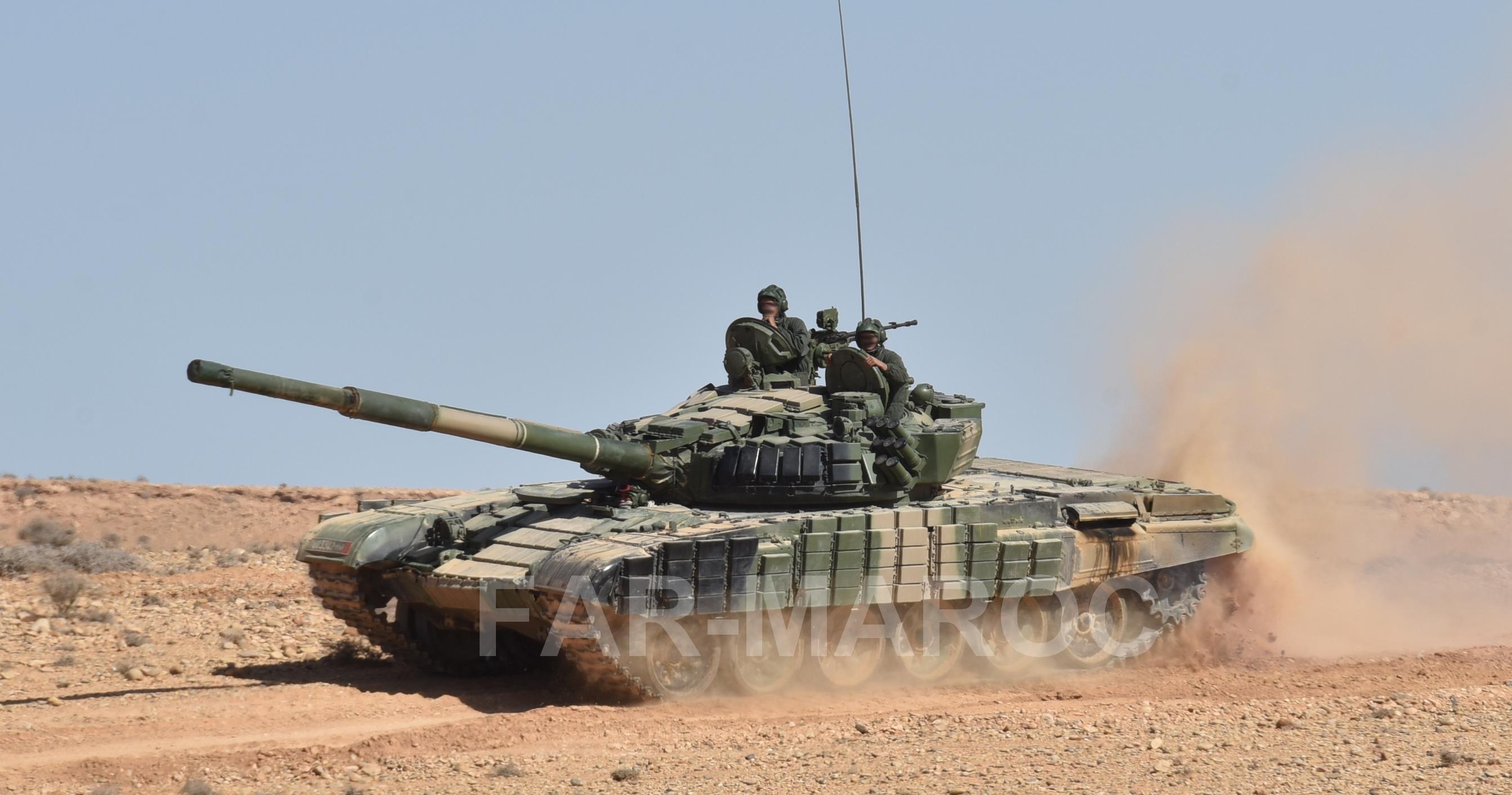 Chars T-72B/BK MArocains // Moroccan Army T-72B/BK Tanks 49250468137_cd49d65b19_o