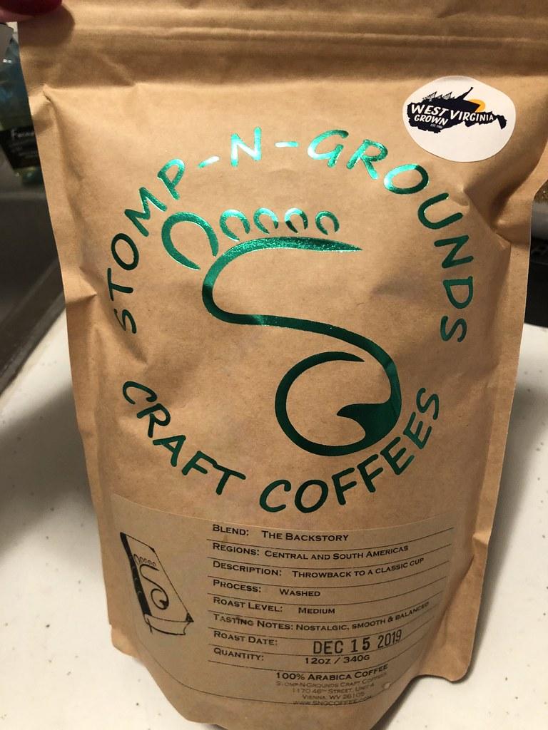 Stomp n grounds coffee