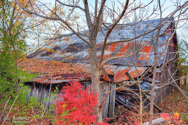 See 7 States from Rock City barn - Spencer, Tennessee
