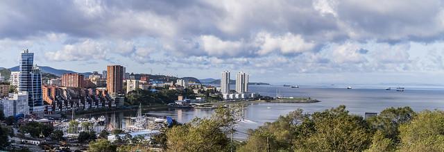 Panorama of Vladivostok
