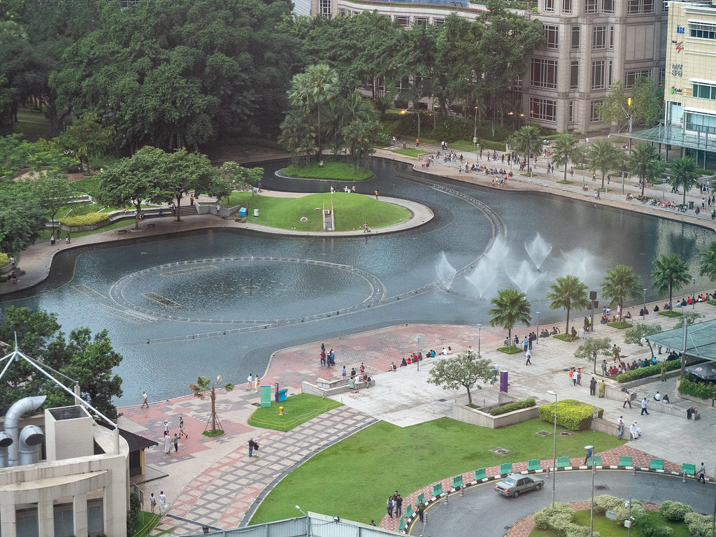 KLCC Park 's Lake View from Curate