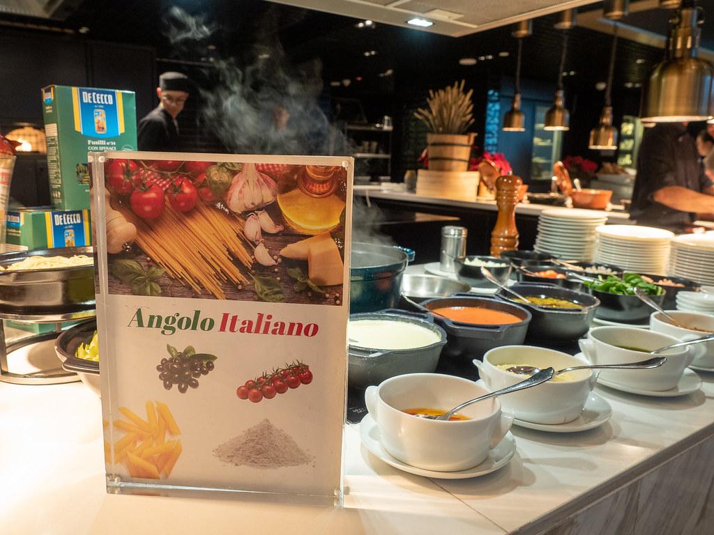 Italian food section
