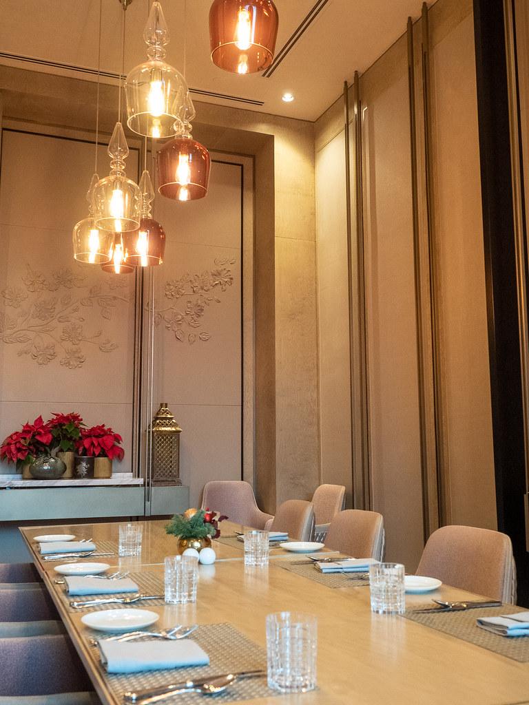 Curate, Four Seasons Hotel Kuala Lumpur private room.