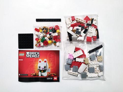 LEGO BrickHeadz Lucky Cat (40436)