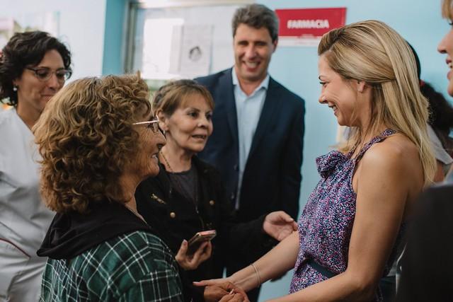 Fabiola Yáñez visitó el centro de salud Las Margaritas para conocer el programa Mil Días (7)
