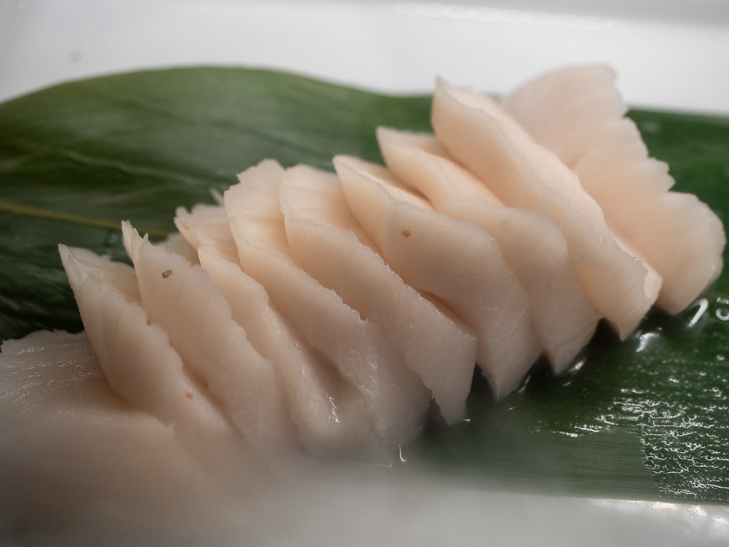 Butter fish sashimi
