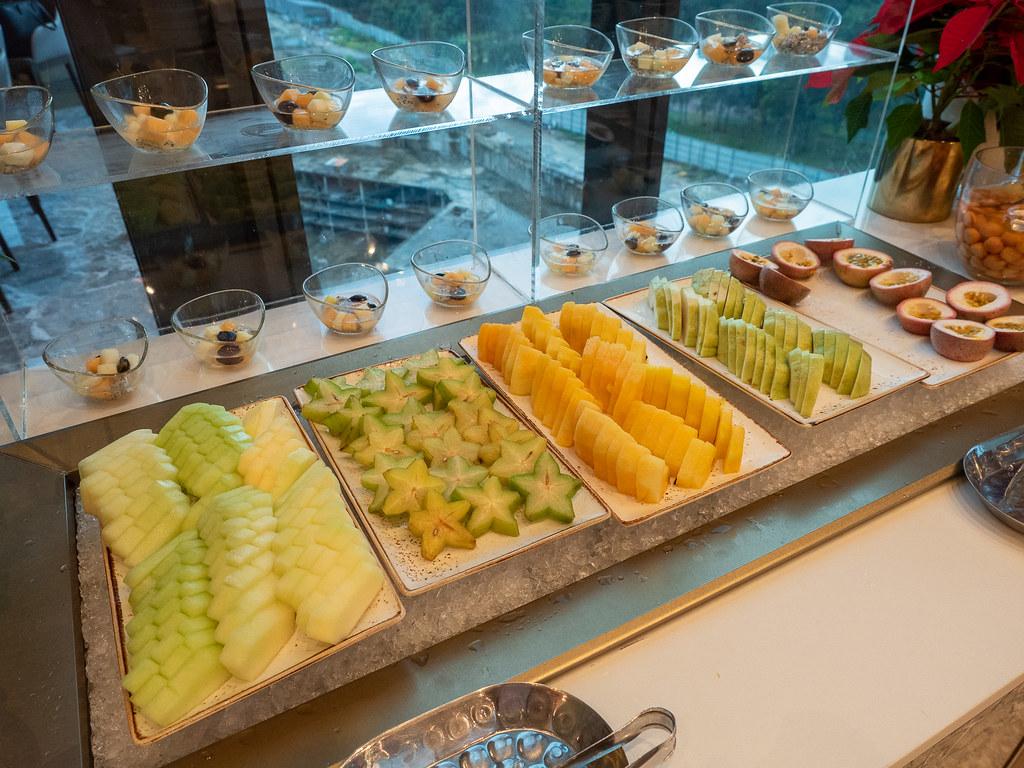 Fresh fruits cuts at Curate, Four Seasons Hotel Kuala Lumpur