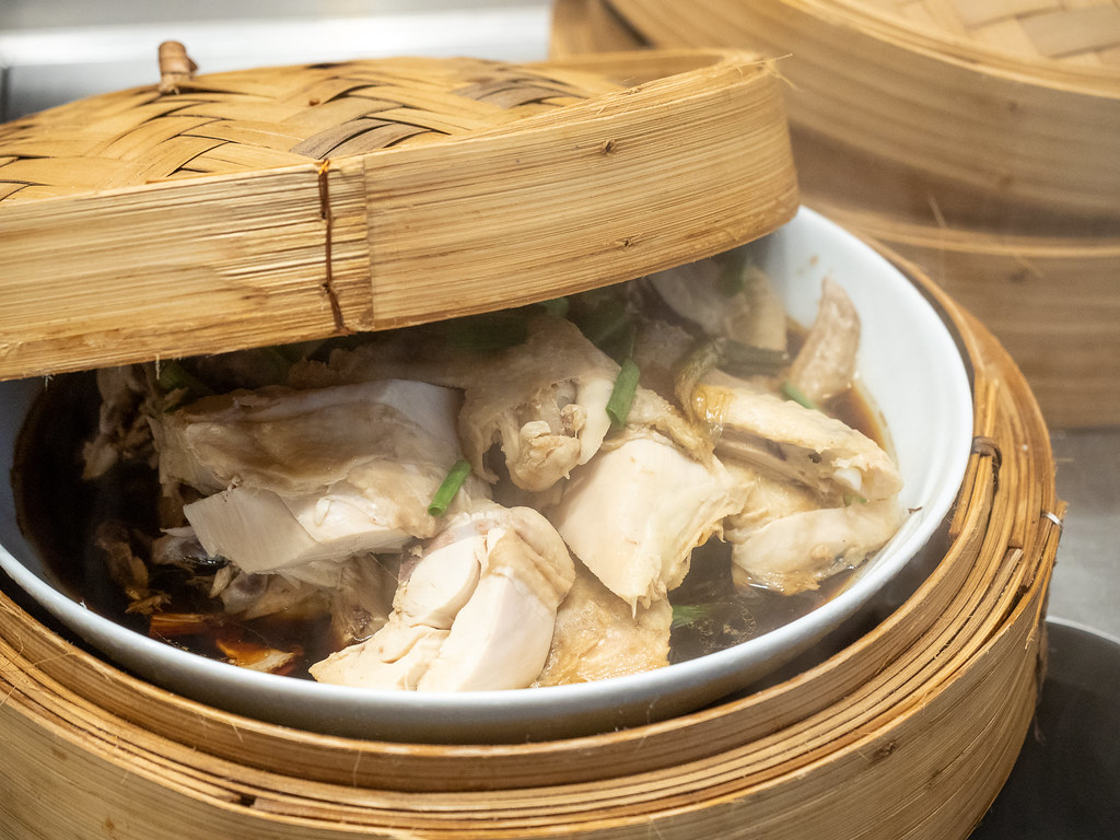 Steamed Soya chicken at Curate, Four Seasons Hotel Kuala Lumpur