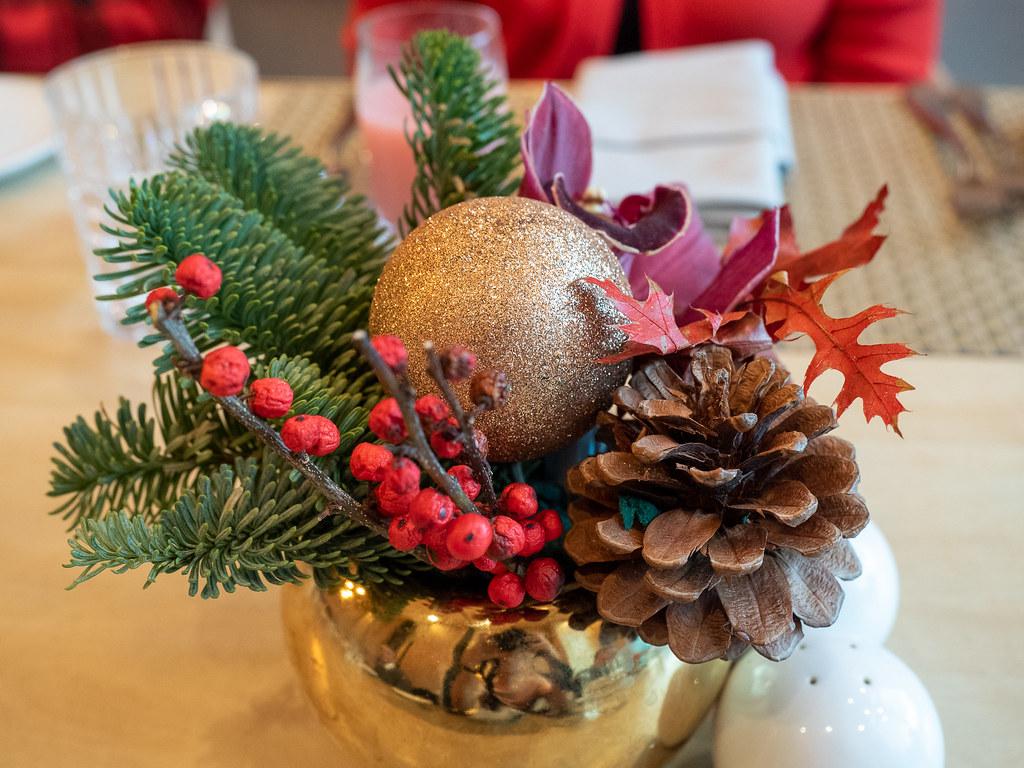Christmas decoration at Curate, Four Seasons Hotel Kuala Lumpur